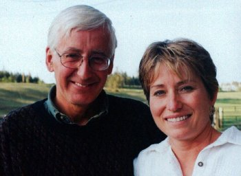 Michael Cecil with sister Marina Castonguay.